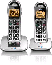 BT Cordless Phone Big Button Twin