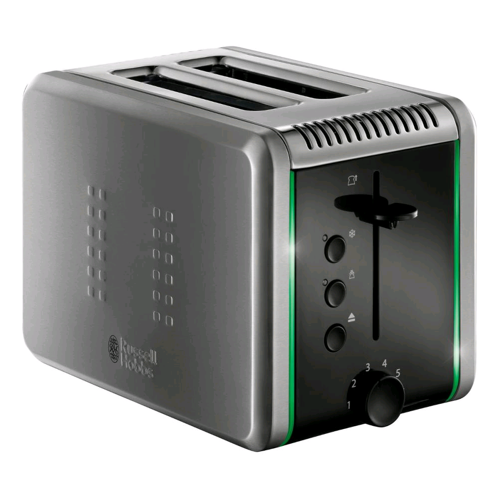 Russell Hobbs Llumina Toaster - Colour Change Indicator S/S
