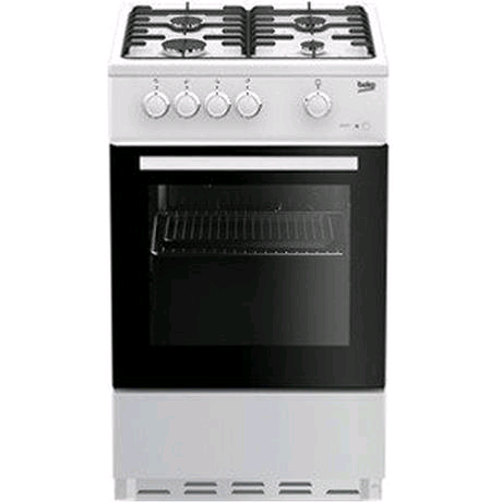 Beko Gas Cooker Single Oven H900 W500 D600