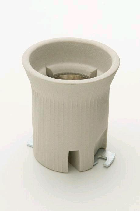 Jeani GES Ceramic Lampholder c/w Bracket