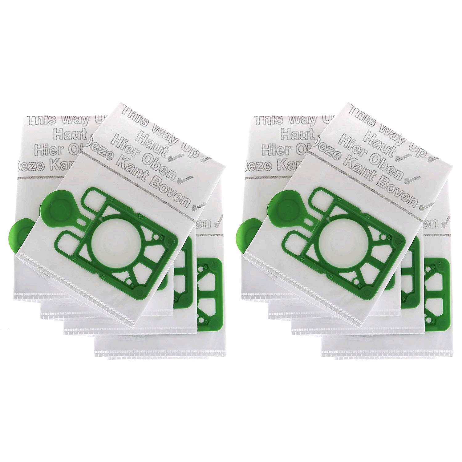 Vacuum Cleaner Bags Henry/Numatic NVM-1CH Filter-Flo Synthetic Dust (Pack of 10) (NUMBAG2000)