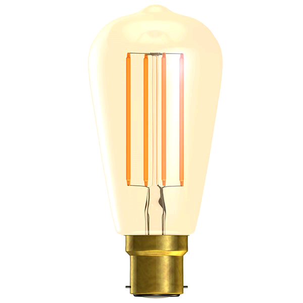 Bell 4w BC LED Dimmable Vintage Squirrel Cage Lamp 2000K