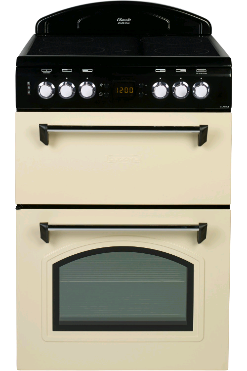 Leisure Ceramic Double Oven Cooker CREAM