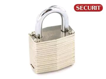Securit 6124998 Laminated Padlock Brass Cylinder 40mm S1115
