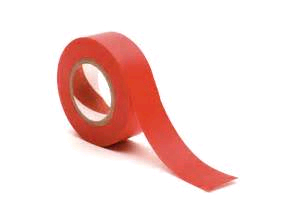 Thorsman 19mm x 33mtr RED Insulating Tape