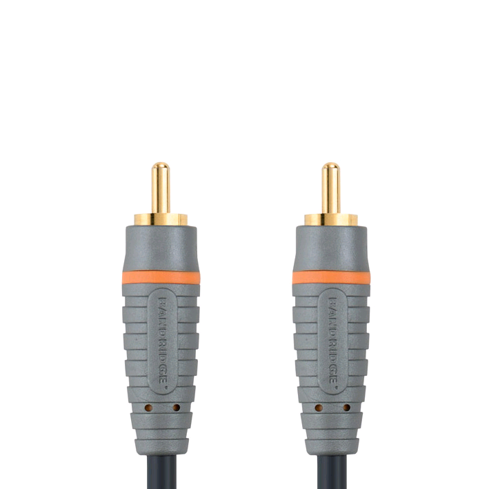 Bandridge Digital Coax Audio Cable 1mtr 24k Gold MID RANGE