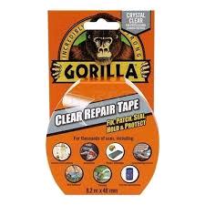 Gorilla Repair Tape Clear 48mm x 8.2m