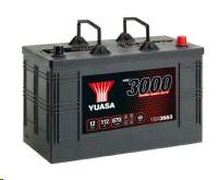 Yuasa 12V Battery 112Ah 870A Cargo Heavy Duty (YBX663HD)