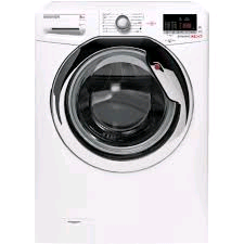 Hoover Washing Machine 8Kg 1500Spin White With Chrome Door