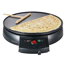 "Breville 12"" Crepe Maker Non Stick Wipe Clean Surface"