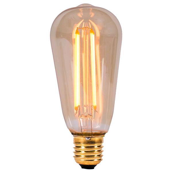 Bell 4w ES LED Vintage Squirrel Cage Lamp 2000K
