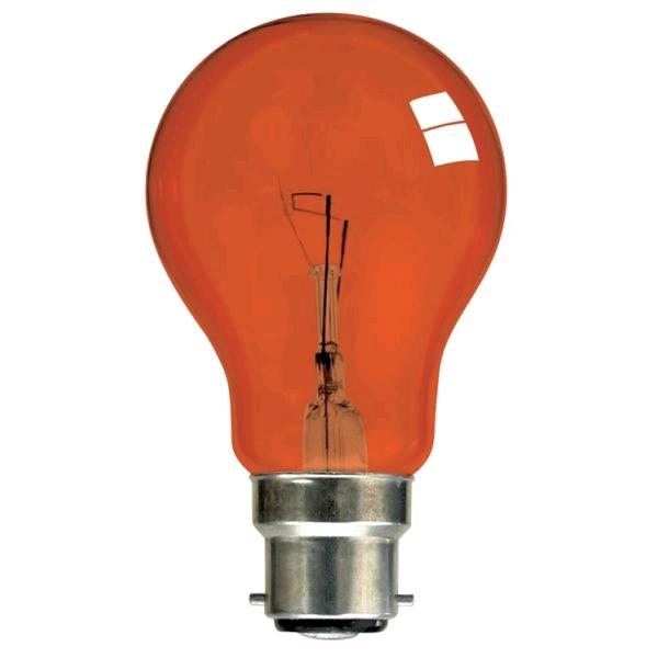 Lamp GLS Fireglow BC 40w