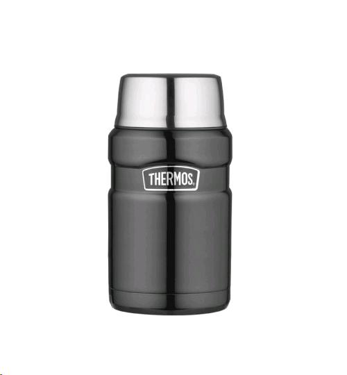 Thermos Food Flask 710ml Stainless Steel Gunmetal
