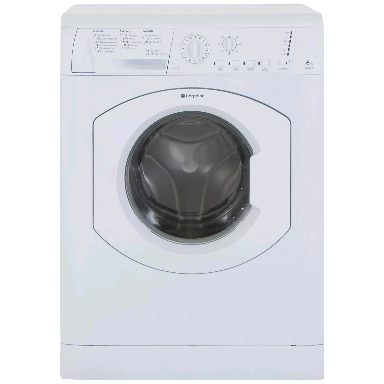 Hotpoint 1200 Spin 6kg Washing Machine 30/60 min Quick Wash