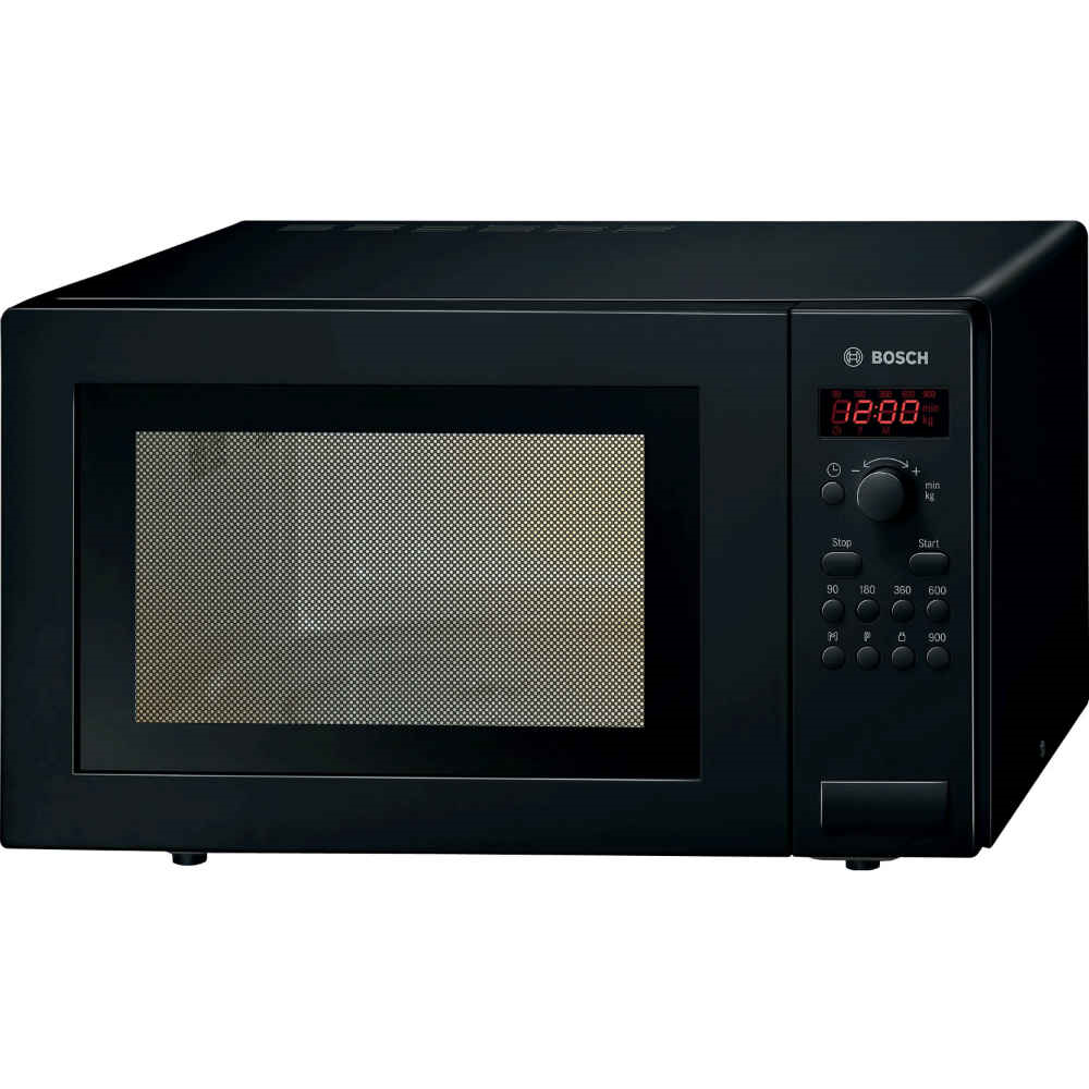 Bosch Microwave 25ltr 900w in Black