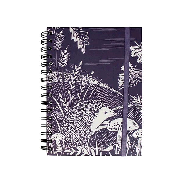 English Tableware Company DD08CCA36  Artisan Notebook Hedgehog