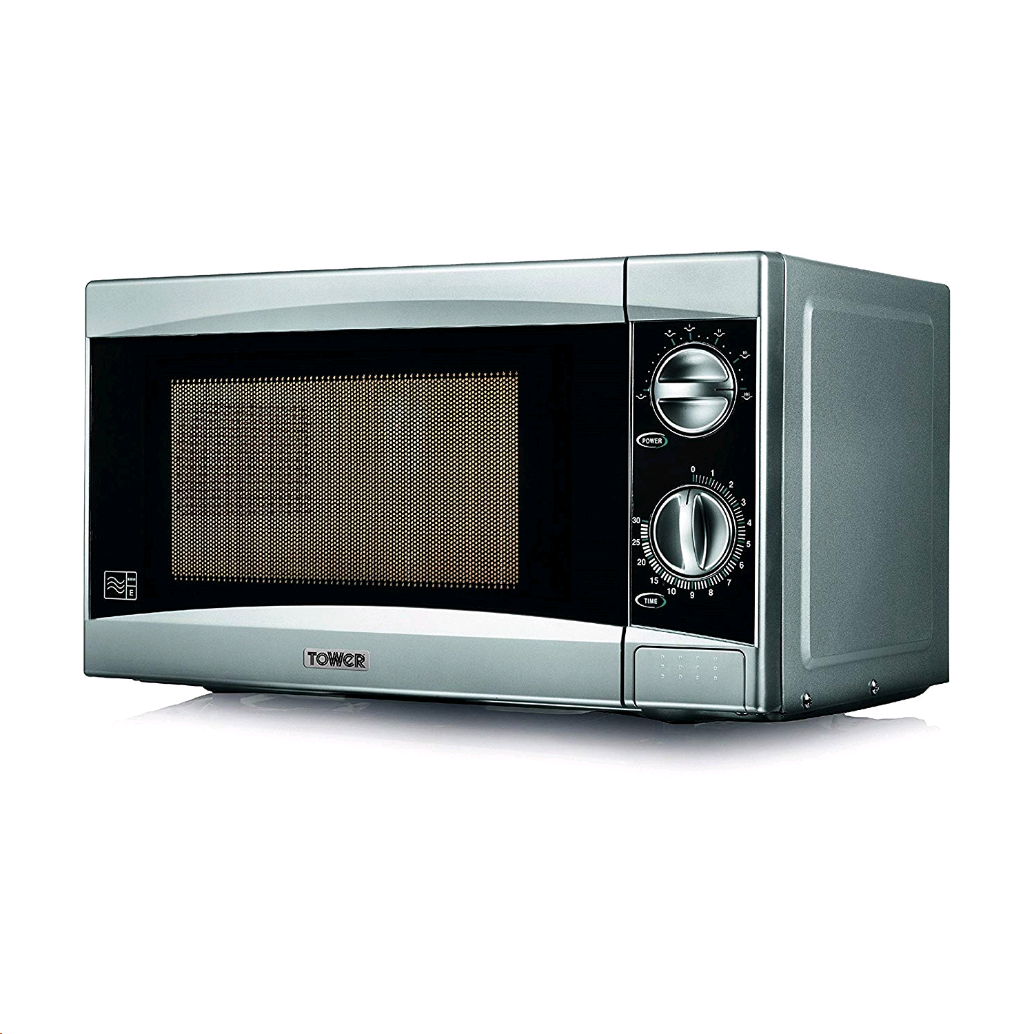 Tower Microwave 800w Manual Silver
