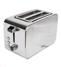 Igenix 2 Slice Stainless Steel Toaster Polished & Brushed