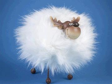 TRIFLORA Funky Moose Cream 18 x 15 x 20