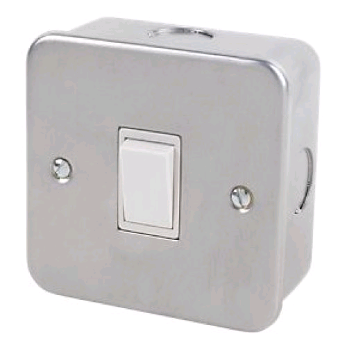 Niglon Metal Clad 1gang 2way Switch