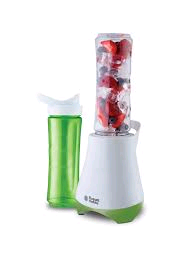 Russell Hobbs Mix & Go Blender 300w c/w 2 x 600ml Bottles Lids