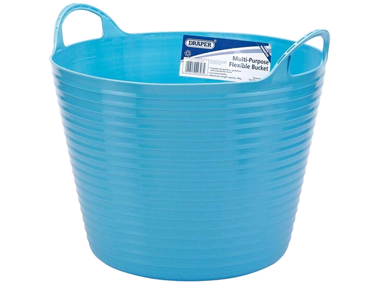 Draper 28Ltr Blue Flexi Bucket