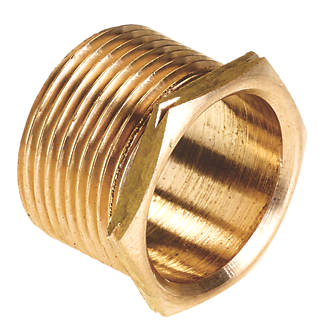 Male Brass Bush Short 25mm (MS25)