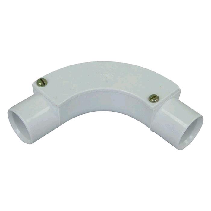 Falcon Conduit Inspection Bend 20mm White