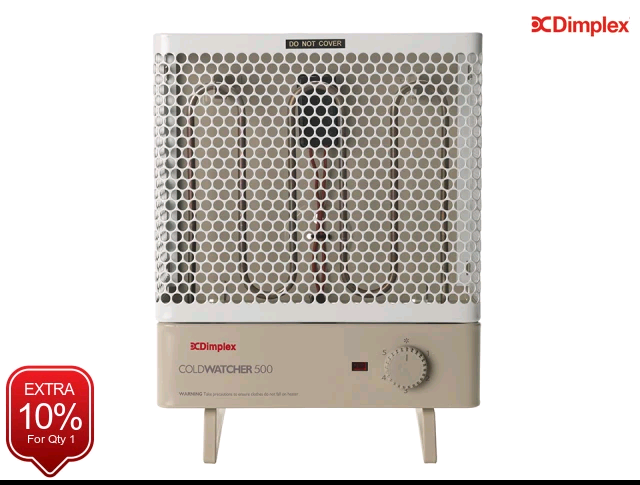 Dimplex 1400721 Frostwatcher/Coldwatcher 500w Heater with Frost Stat