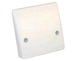 BG 45a Flex Outlet Plate Bottom Entry