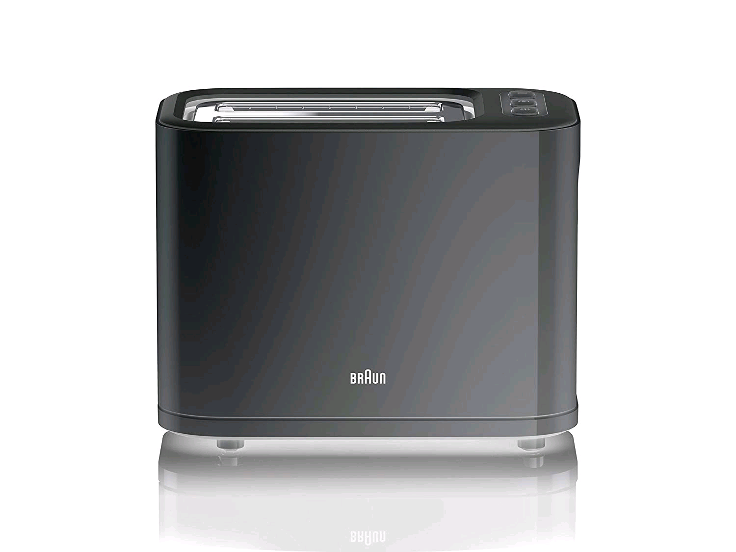 Braun Purease 2 Slice Toaster Black