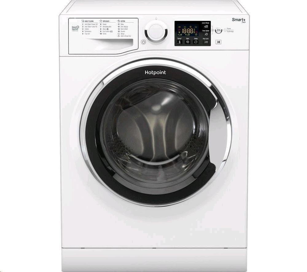 Hotpoint Washing Machine 9kg 1400 Spin Speed Smart Inverter Motor