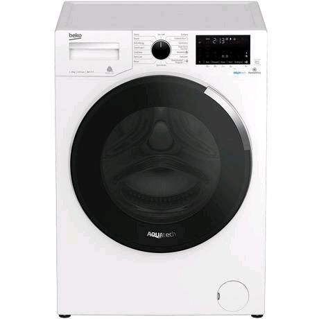 Beko WY940P44EW 9 kg 1400 AquaTech Washing Machine - White - A+++ Energy Rated Inverter Motor