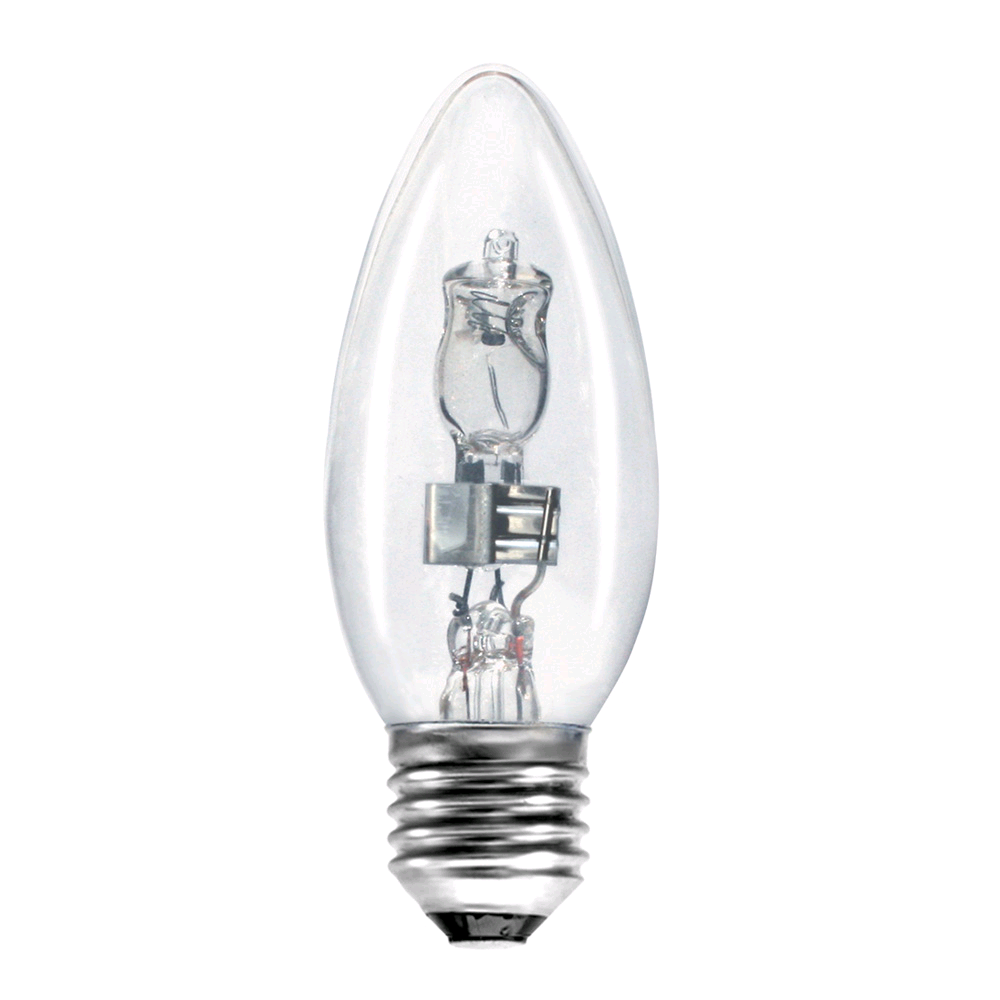 Bell 42w ES Clear Halogen Candle