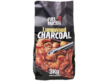 Fuel Express 3240191 Charcoal Lumpwood 3Kg