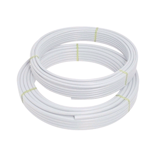 Polypipe PolyFit 100mtr x 10mm Barrier Pipe White