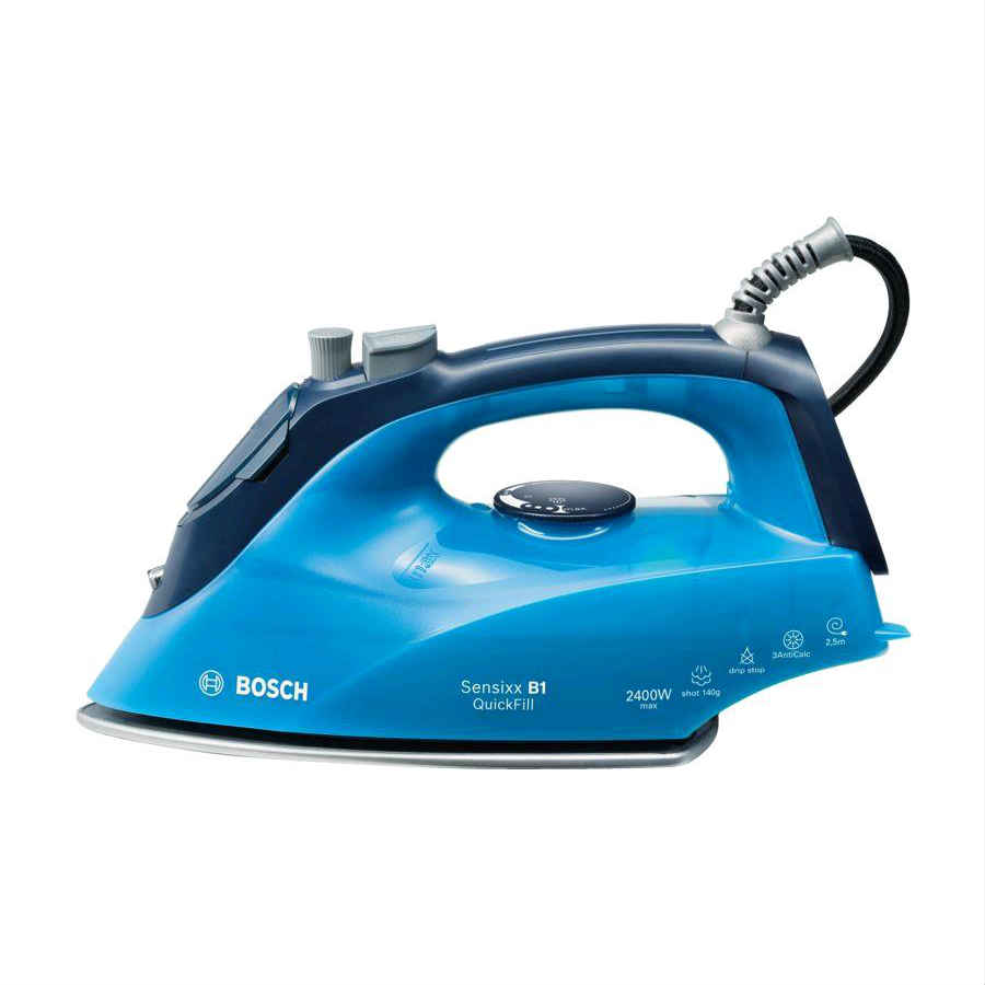 Bosch Sensixx Steam Iron Ice Blue/Midnight 2400w