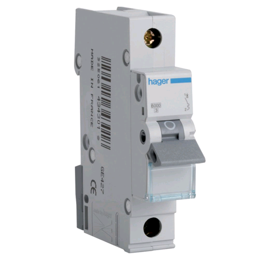 Hager 63a SP B Rated MCB