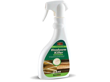 Barrettine Solvent Base Woodworm Killer Spray 500ml