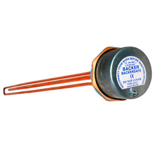 Backer Immersion Heater 27in 3Kw Anti-Corrosive