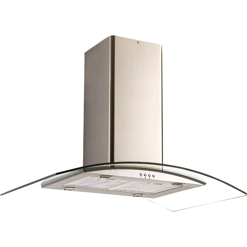 CANDY CGI96NX 90cm Chimney Island Cooker Hood Stainless Steel
