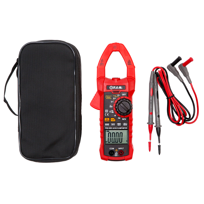 TIS Digital AC/DC 100A Clamp Meter