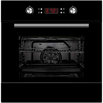 Statesman BSM60BL Built In Multifunction Single Oven Black 70 litres A Rated
