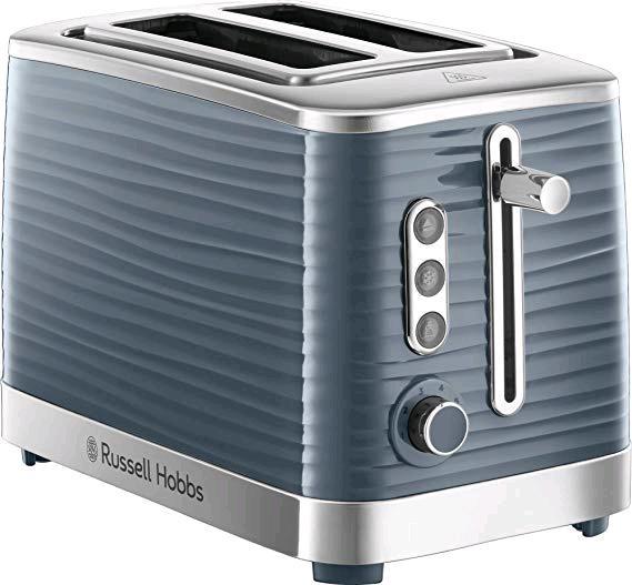 Russell Hobbs Inspire 2 Slice Toaster Grey
