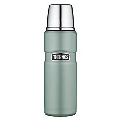 THERMOS 170275 STAINLESS KING FLASK 470ML DUCK EGG BLUE