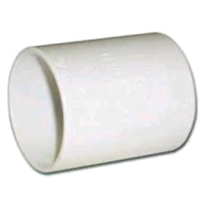FloPlast Wastepipe Coupler 50mm White Solvent Weld