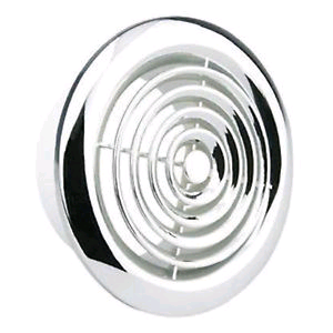 "Manrose 4"" Circular Ceiling Grill Chrome"