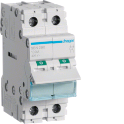 Hager 100A 2P Main Switch