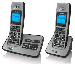 BT Cordless Phone Twin with Answering Machine
