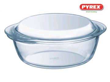 PYREX 207A000/6143 CASSEROLE DISH ROUND 1.0LTR